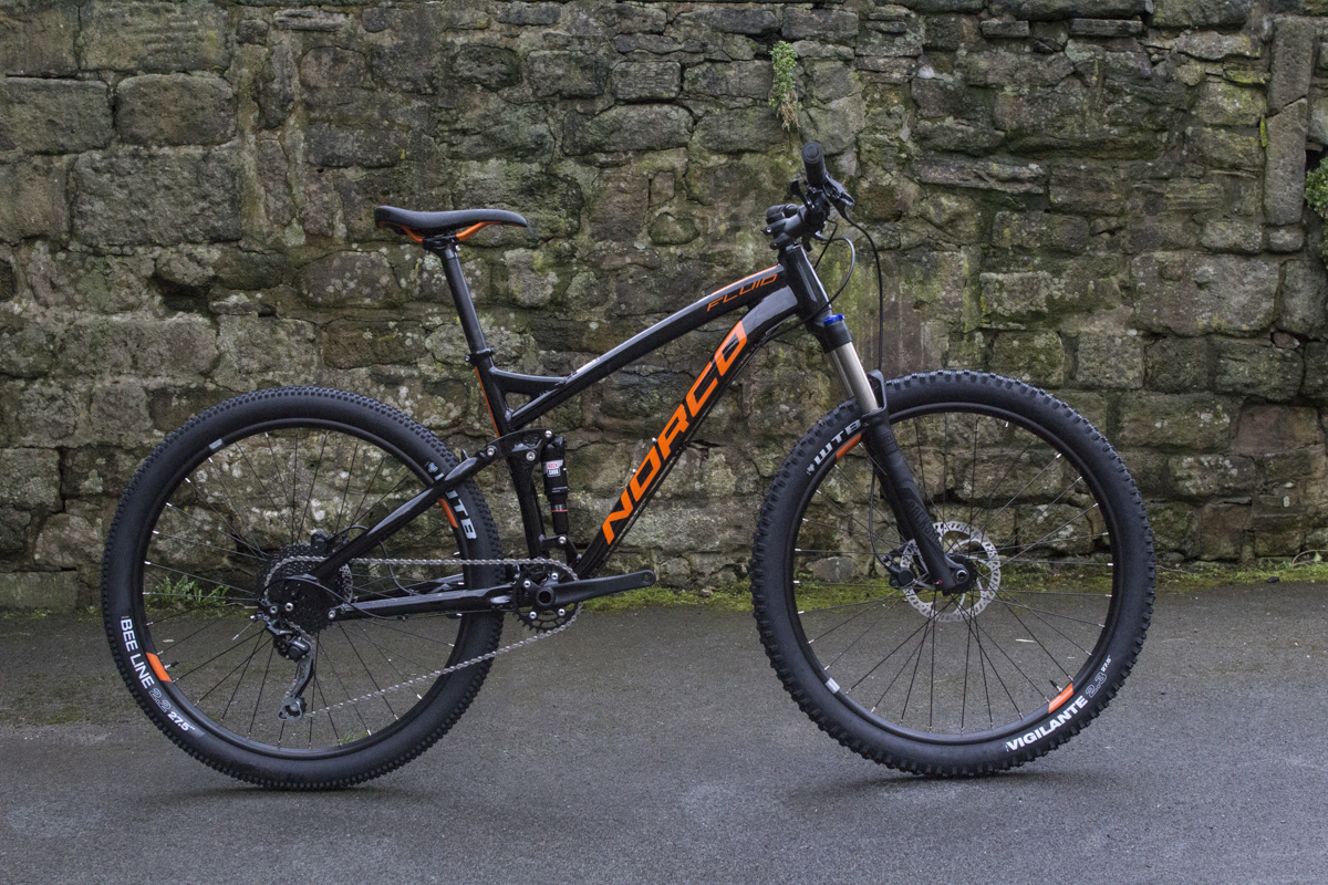 norco fluid full suspension budget tektro