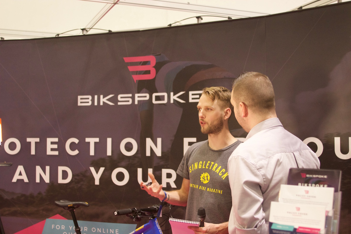 bikspoke insurance travel accident crash damage coverage sponsored london bike show alchemy arktos chipps bruise broken