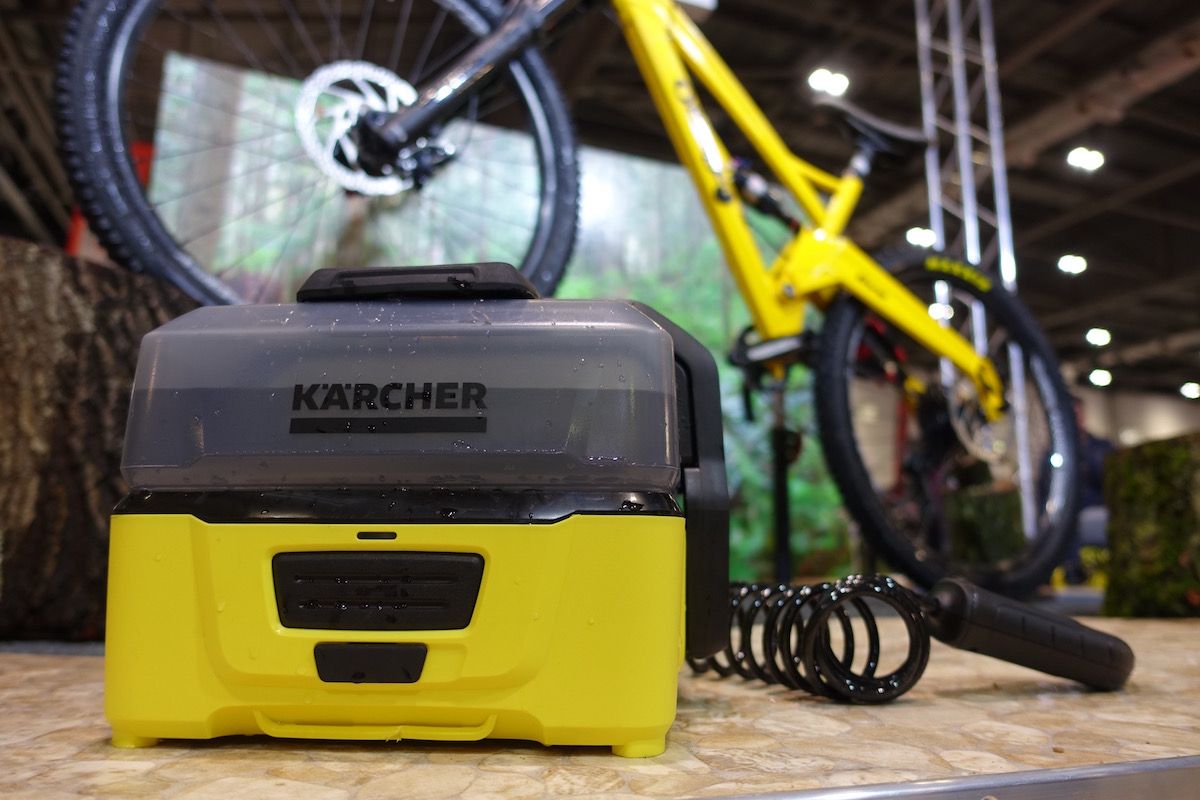 karcher mobile bike washer cleaner pressure london bike show water