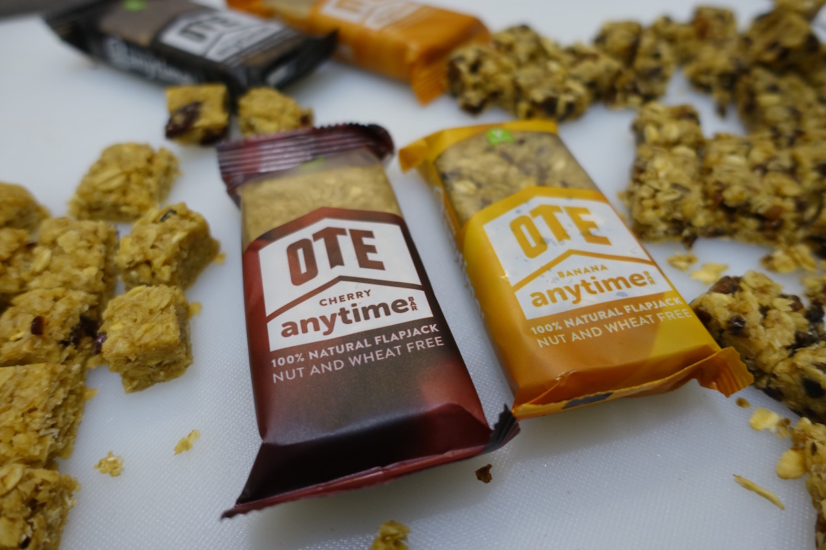 ote nutrition london bike show food drink hydration bar gel isotonic