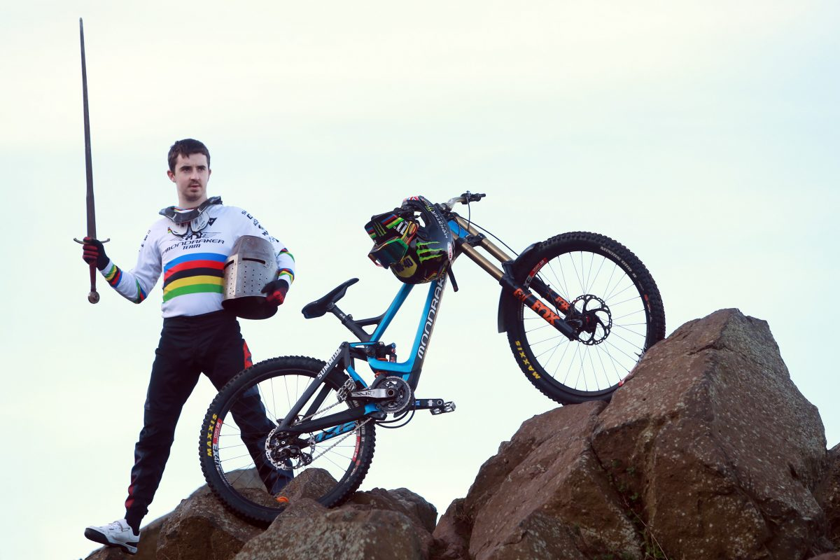 Danny Hart Launches Fort William Mtb World Cup