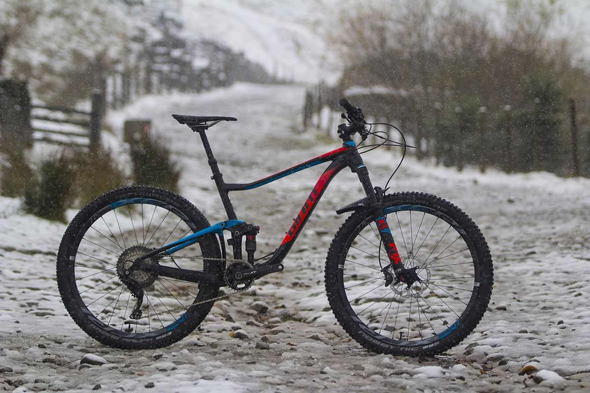 giant anthem 1 27.5 alloy full suspension snow wil shimano xt 1x11