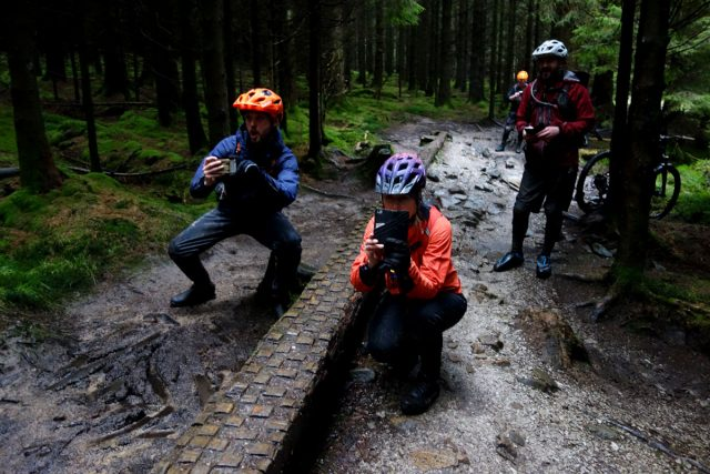 hans rey steve peat peaty gisburn wet trail centre chipps wil beate