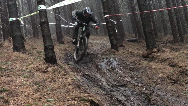 ross demain mud havoc bike park mud muddy wet rain
