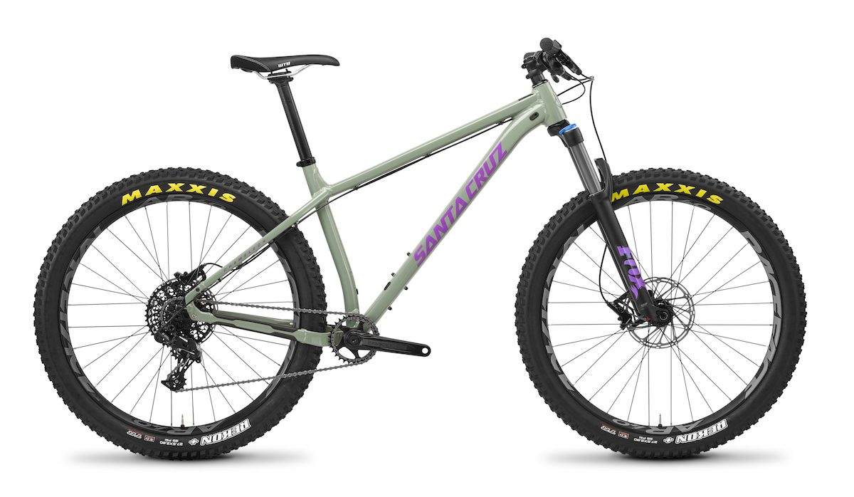 santa cruz hardtail chameleon 27.5 plus 29in mountain bike hebden bridge yorkshire ed oxley