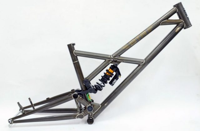 btr pinner full suspension bike