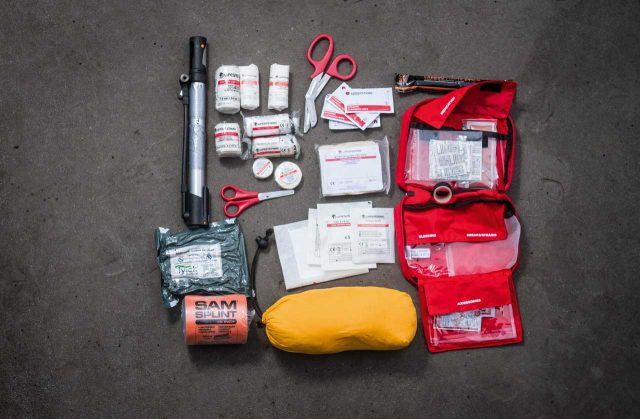 red-first-aid-kit