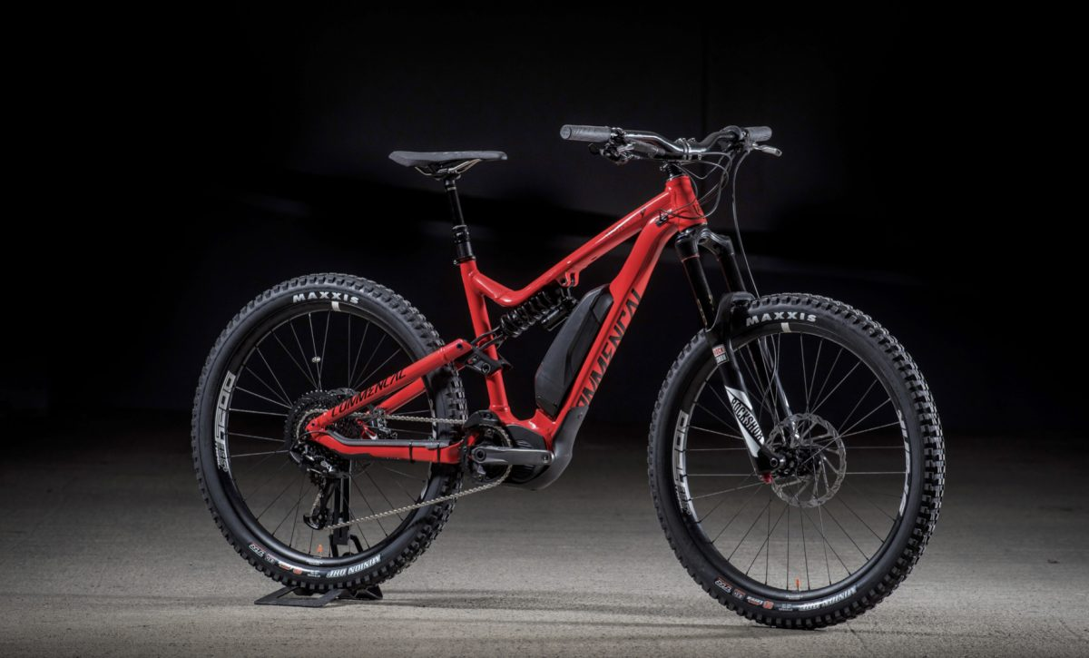 Commencal Goes Full E Mtb With Meta Power Singletrack