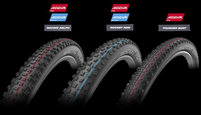 schwalbe addix rubber compound rocket ron dirty dan magic mary nobby nic racing ralph hans dampf