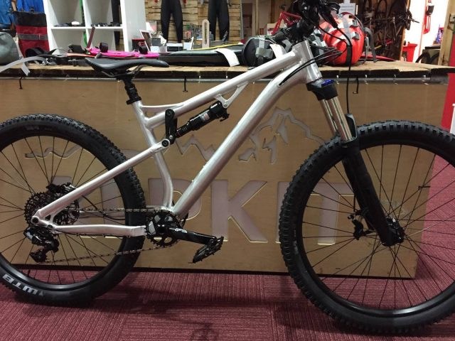sonder full suspension prototype stolen