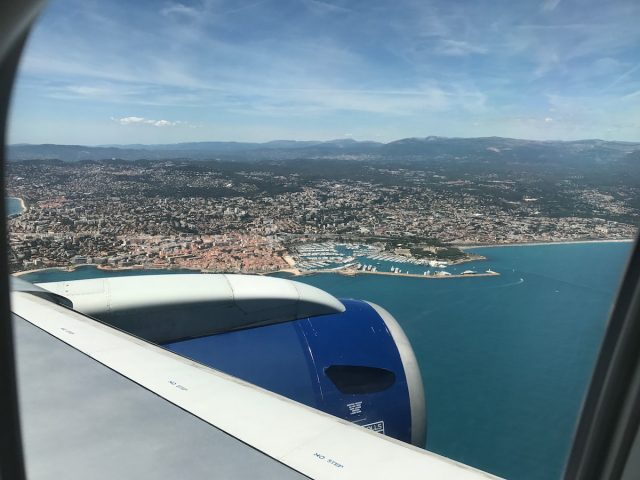 wil plane nice valberg france beach ocean flight