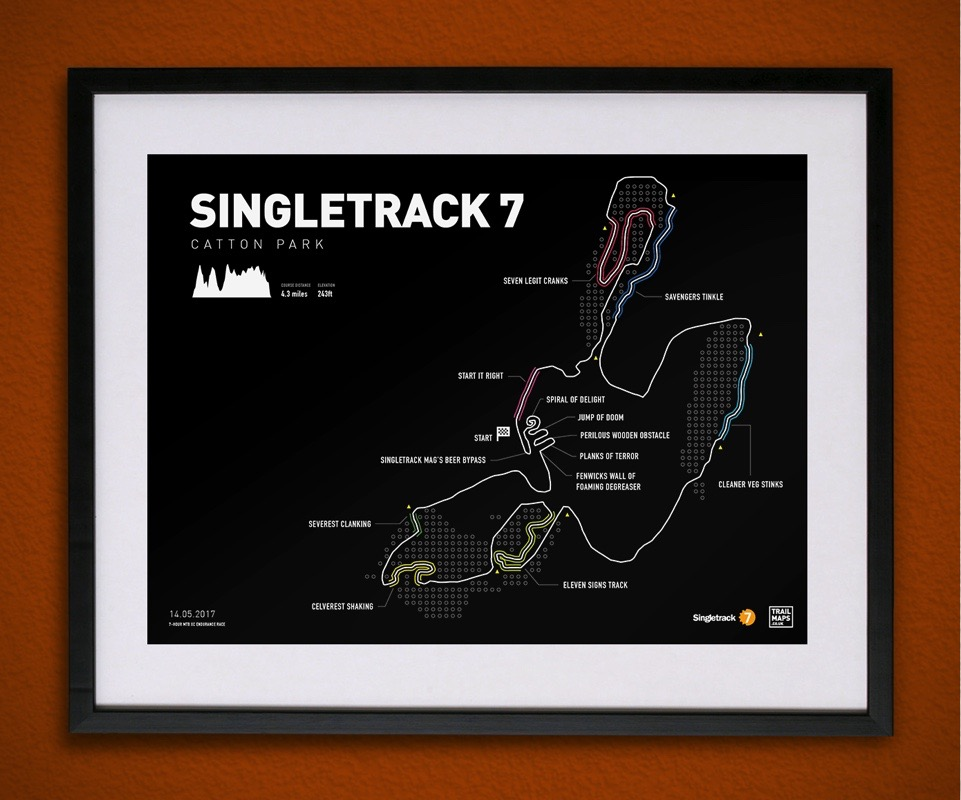 Singletrack7 trailmaps