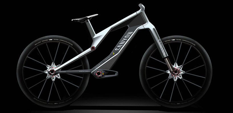 Canyon Ebike Concept Ditches Suspension For Magnets