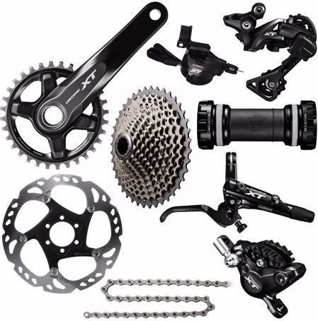 A full Shimano XT groupset for the price of a high-end cassette!