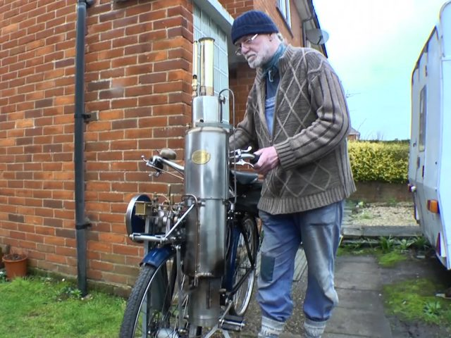 The Hudspith Steam Bike