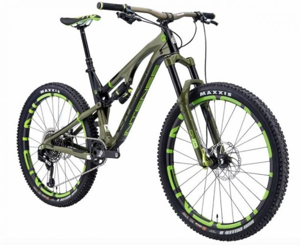 "FRONT SUSPENSION - DVO Diamond 27.5"", Air, 150mm, Boost 110x15mm SHIFTERS - SRAM X01 Eagle, 12-speed"