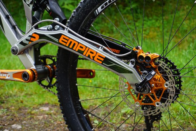 empire mx6-evo british made uk alloy cast fort william