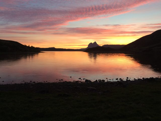 Magical Suilven sunset