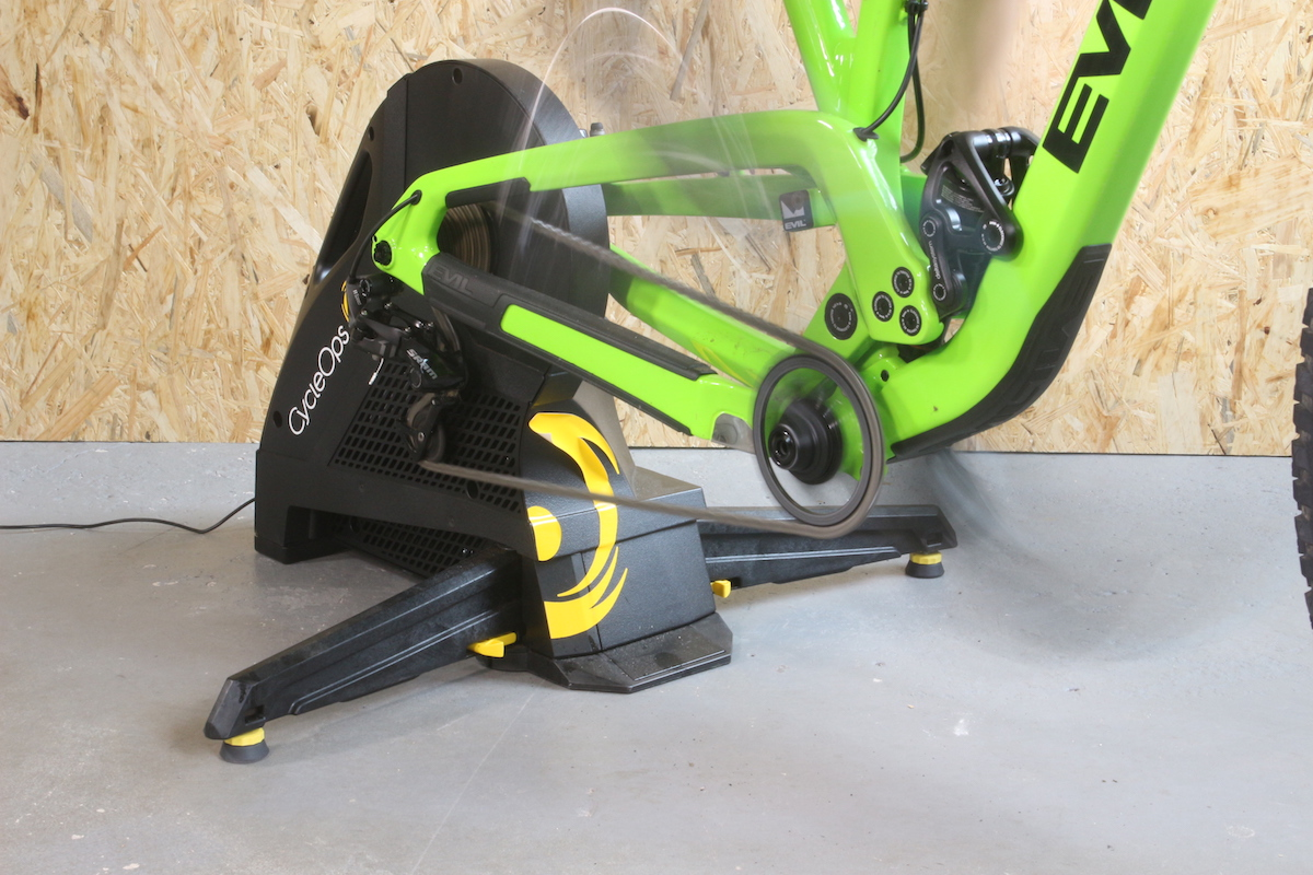 cycleops hammer trainer smart training wil injury