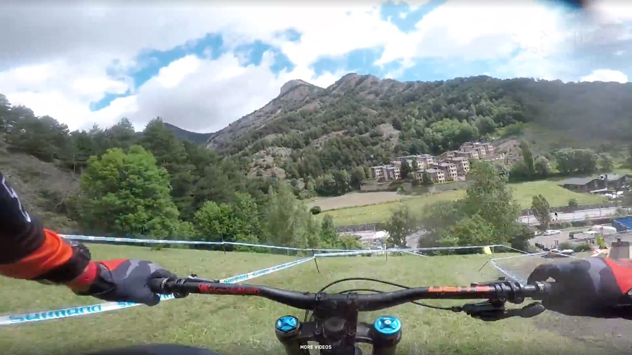 Vallnord course preview - Claudio Caluori