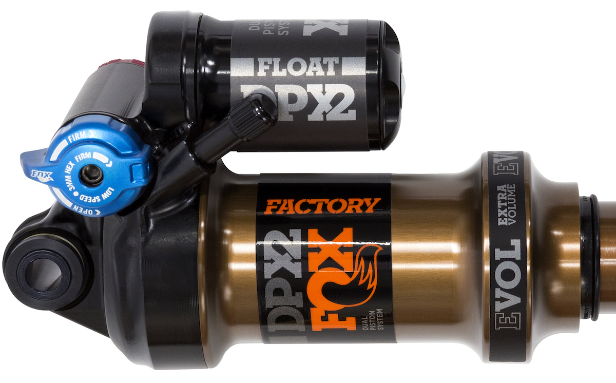 fox float dpx2 rear shock kashima
