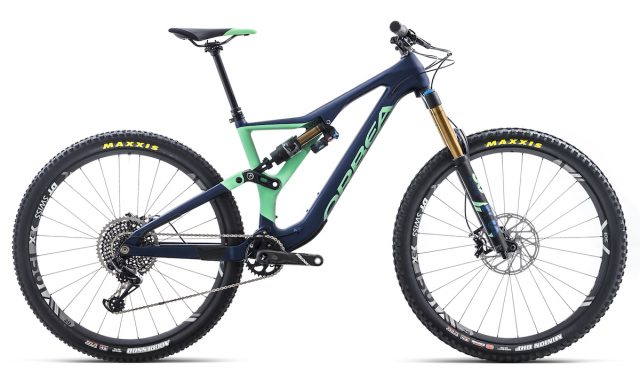 orbea rallon enduro 29in full suspension