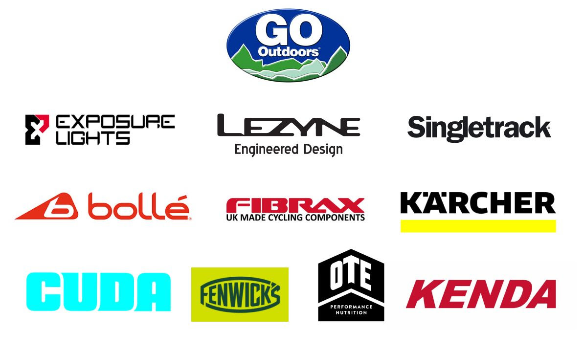 2017 GO Outdoors Mountain Mayhem sponsors