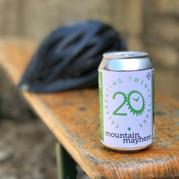 special limited edition Mountain Mayhem 20th Anniversary brew