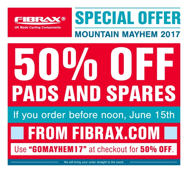50% off Fibrax pads and spares