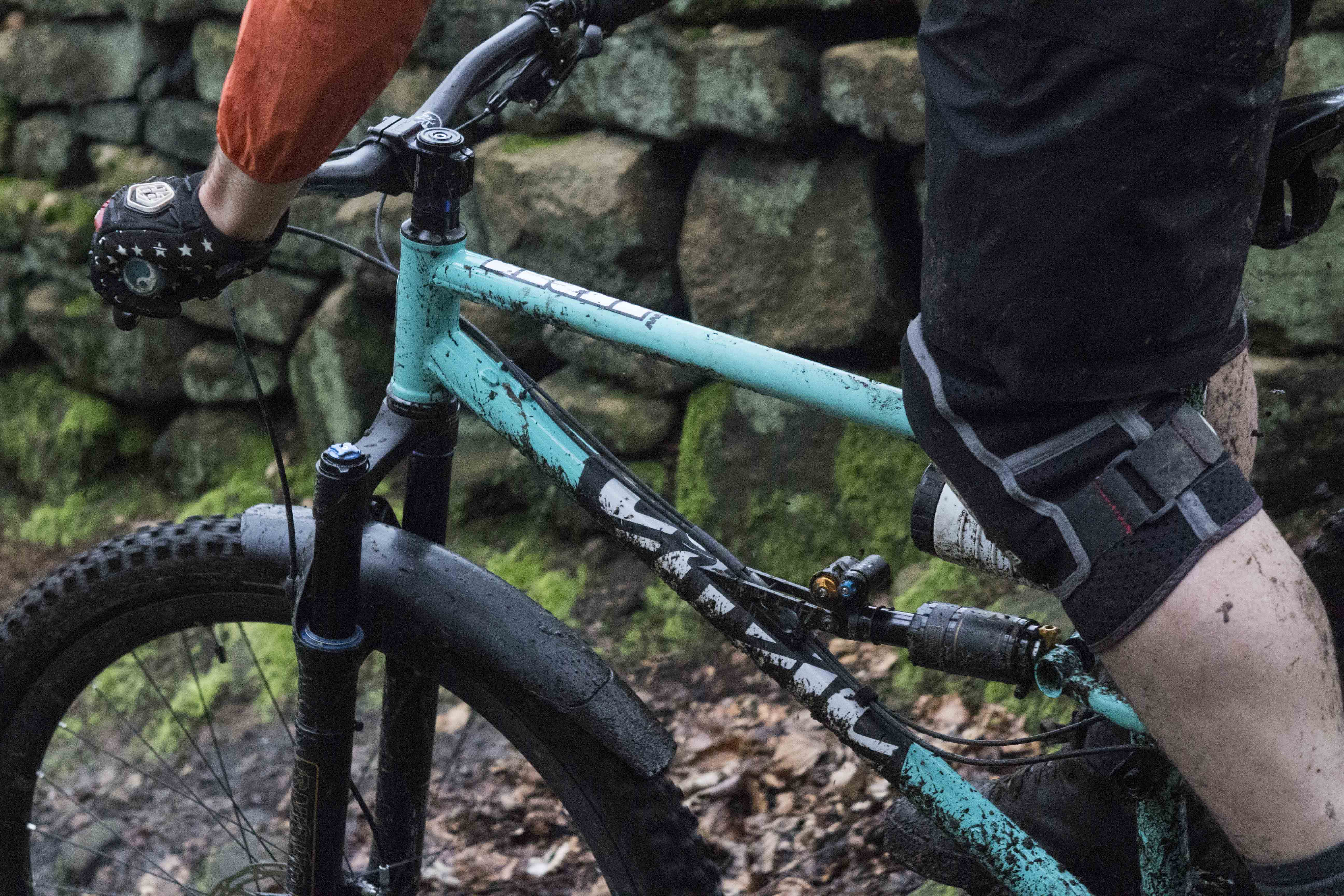 Review Ohlins Rxf36 Fork Stx22 Shock Singletrack Magazine Mountain Bike Parts On To Absorb Bumps In A Road Absorber With