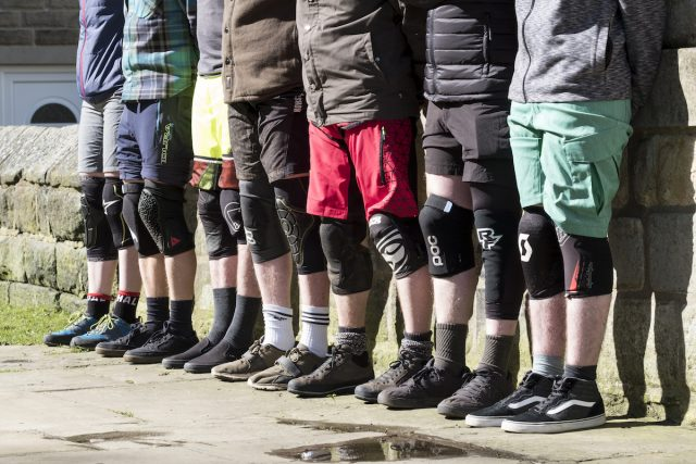 issue 112 knee pad group test