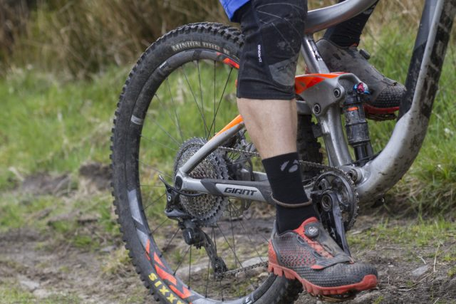 knee pads wil giant trance bontrager sunrace cassette