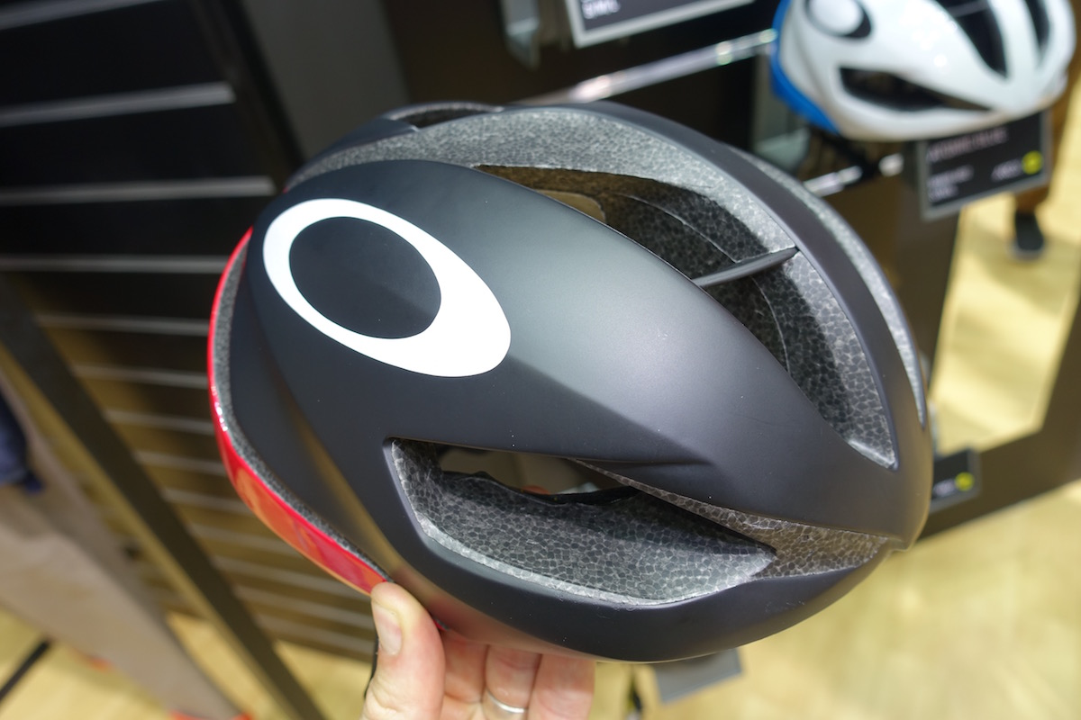504450c6b5 The new Aro 5 helmet from Oakley – the brand s first cycling helmet. ...