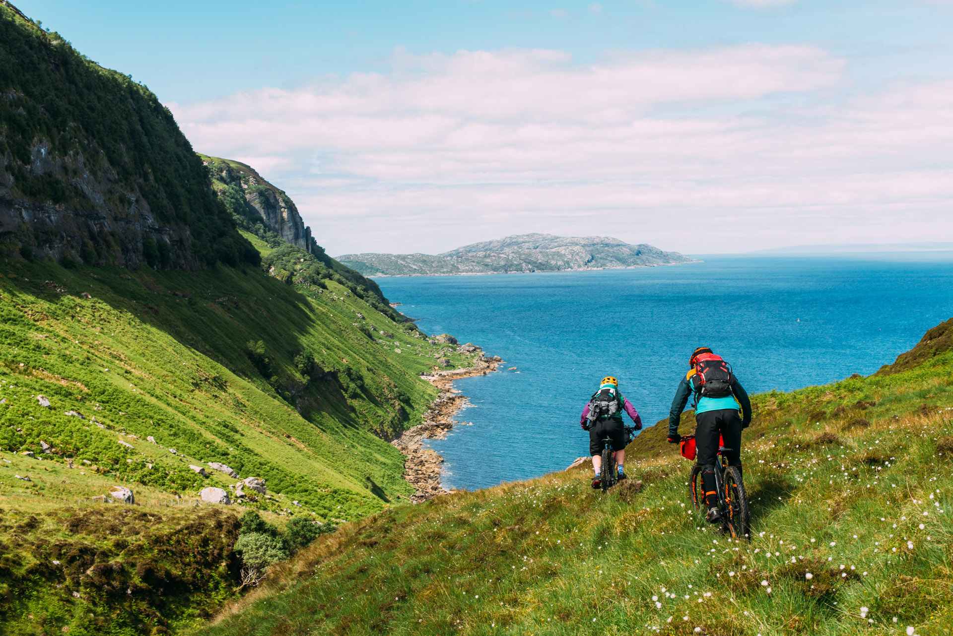 First time Bikepacking - Raasay