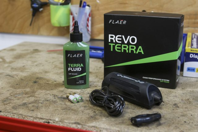 revo terra chain lubrication