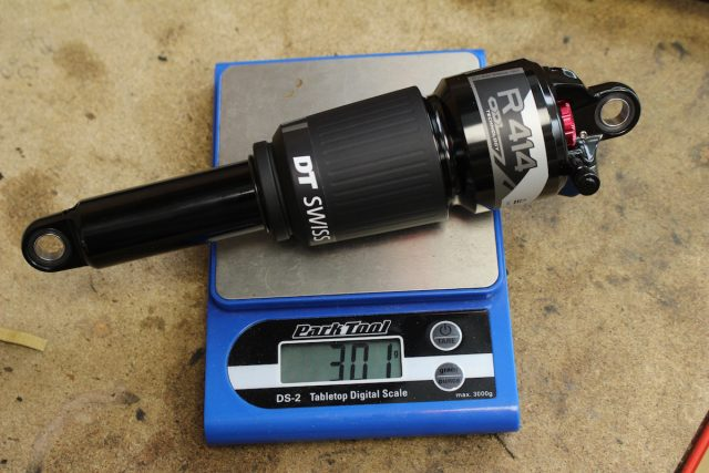 dt swiss r414 rear shock suspension whyte t130
