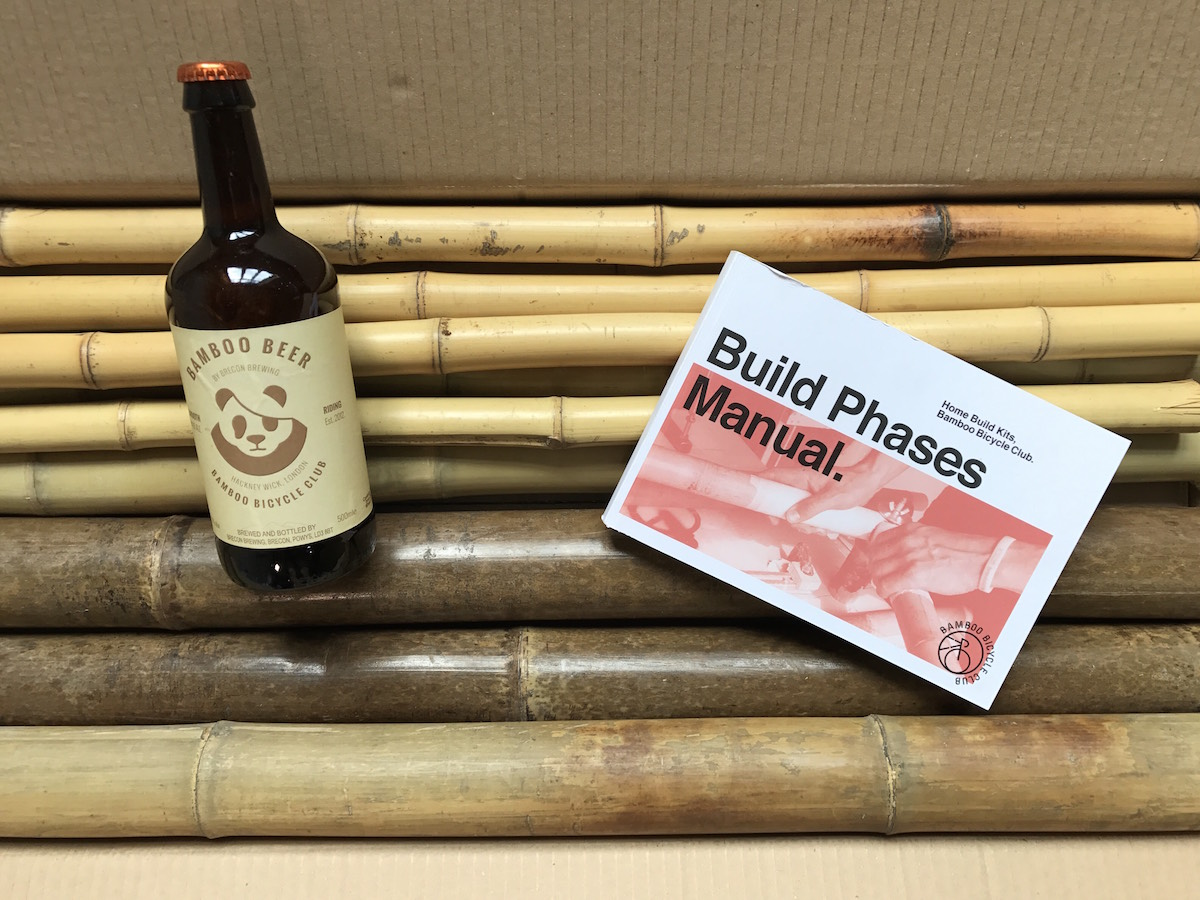 bamboo bike kit beer