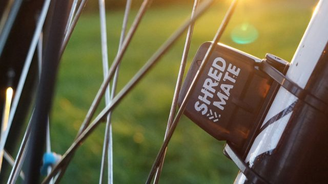 Shredmate sensor on forks.