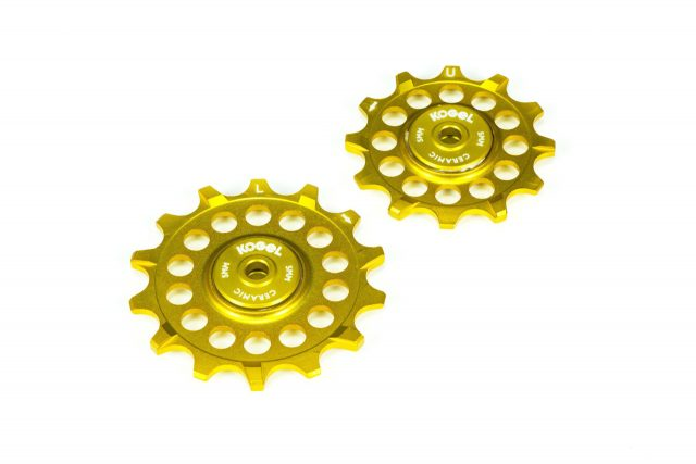 Kogel gold derailleur pulleys