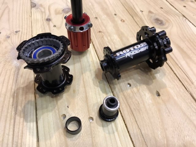 rotor freehub clutch mechanism hub