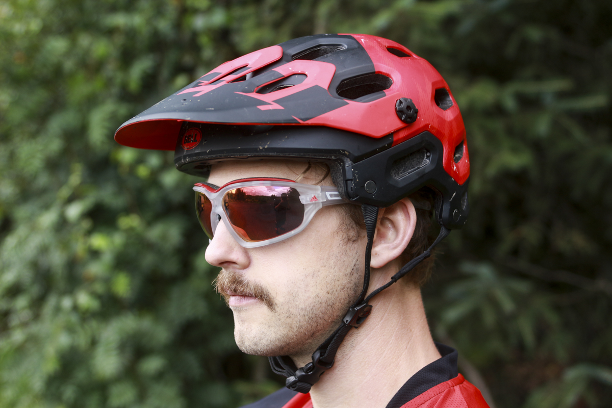 adidas evil eye evo pro glasses wil bell super moustache