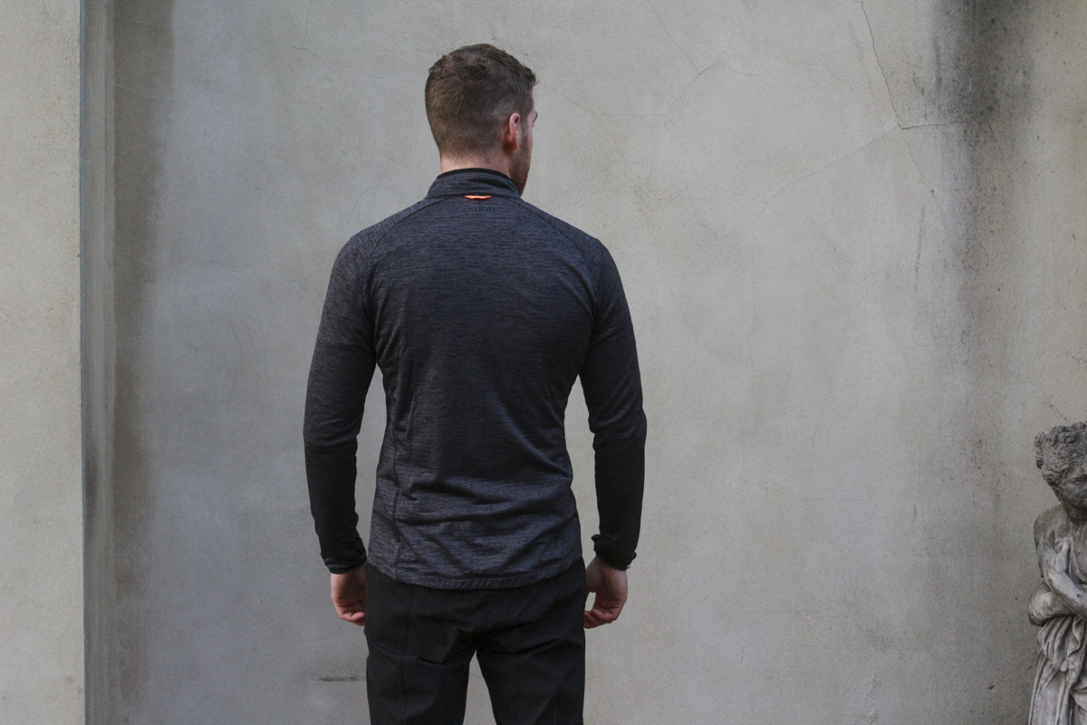 The Long Sleeve Trail Thermal Jersey uses a dropped tail and internal thumb  loops at the cuffs for maximum coverage. 1819b8163