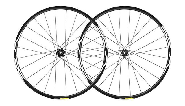 mavic XA light wheelset