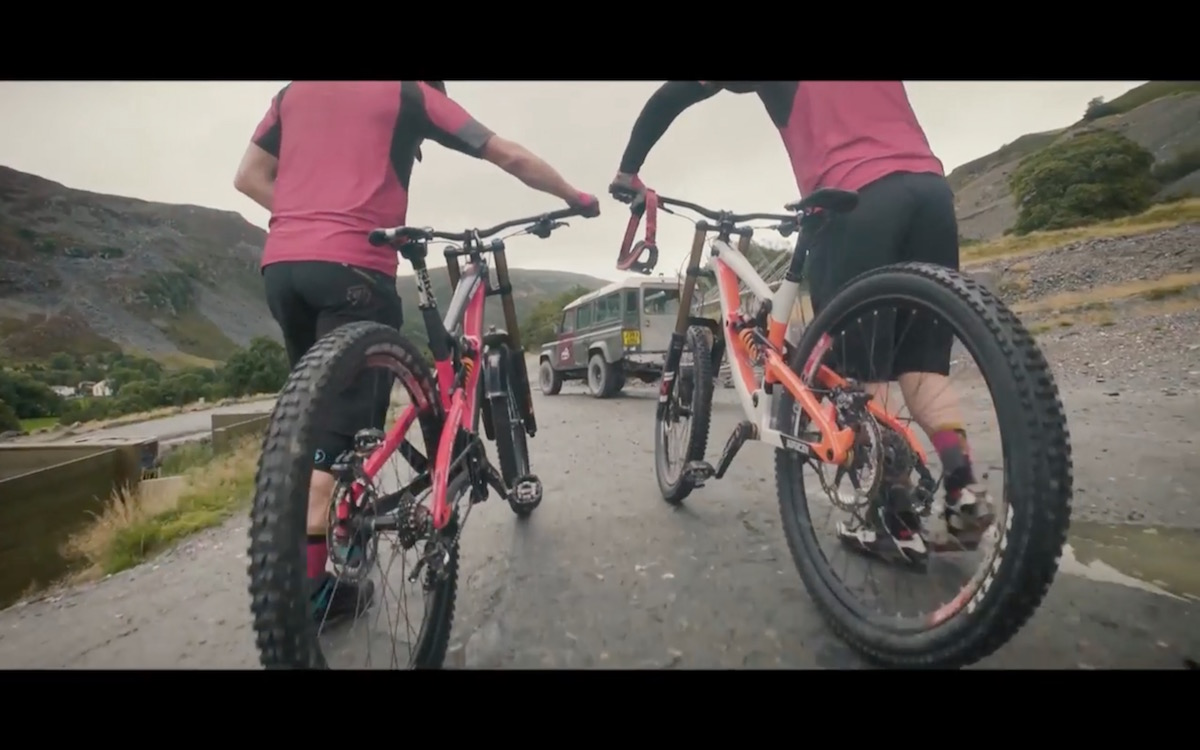 saracen myst downhill bike marc beaumont revolution bike park
