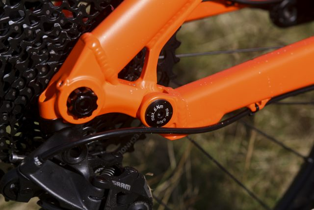 sonder evol full suspension bike