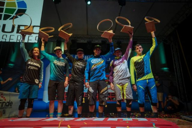 enduro world series finale ligure podium