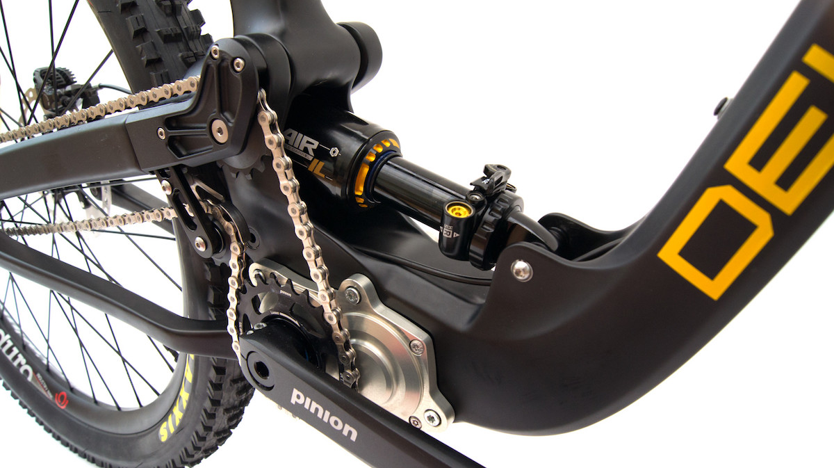 deviate cycles guide enduro pinion gearbox