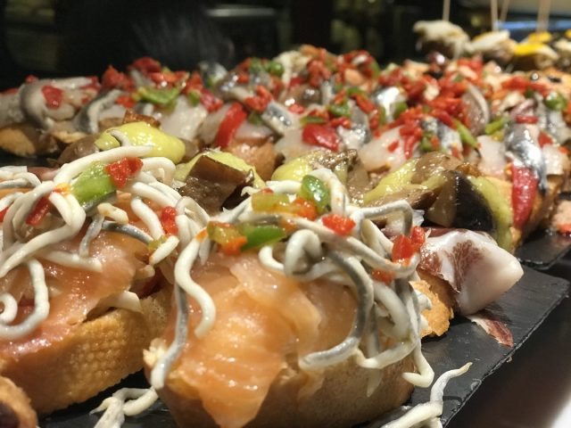 Pintxos Spain Food