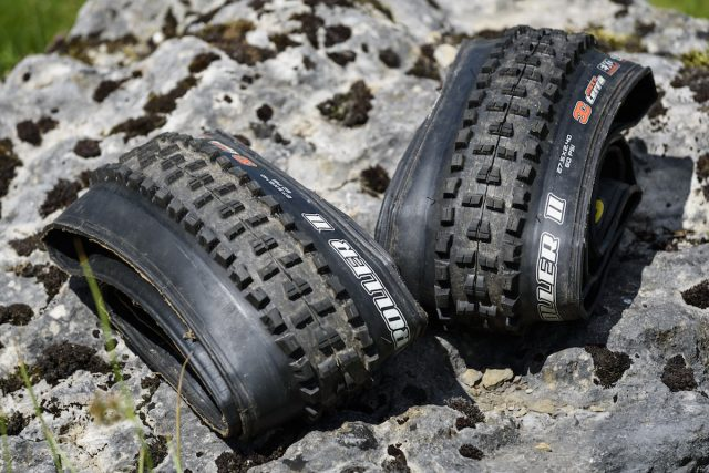 maxxis high roller exo 3c tubeless tyre