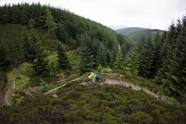 Tweedlove Enduro: Whyte team rider racing
